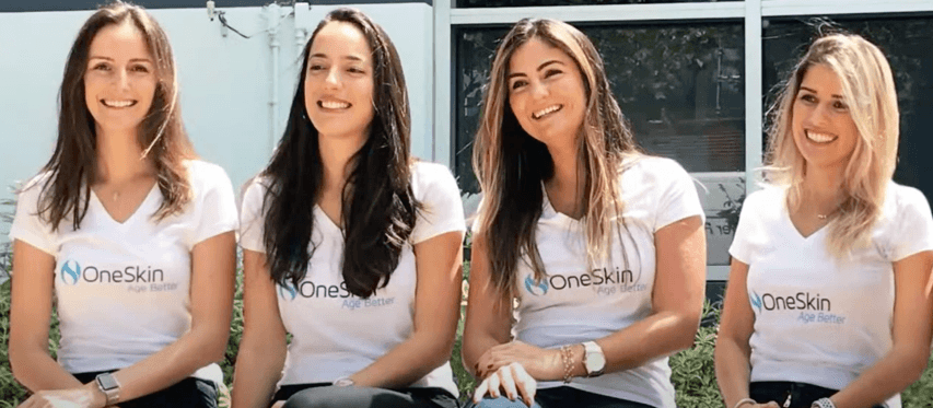 The founders of OneSkin
